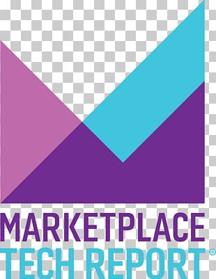 Logo Marketplace National Public Radio Technology Purple PNG