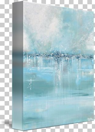 Painting Abstract Art Canvas Print PNG