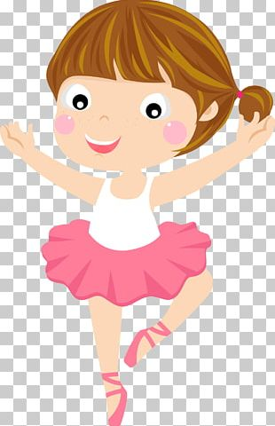 Ballet Cartoon Dancer PNG