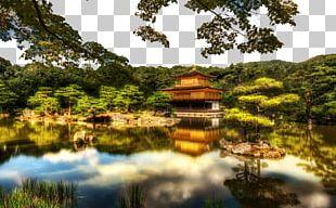 Kinkaku-ji Temple Shinden-zukuri Zen PNG