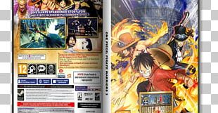 One Piece: Pirate Warriors 3 Video Game PC Game Blu-ray Disc PNG