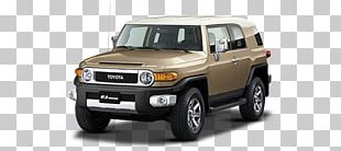 Toyota FJ Cruiser Car Toyota Land Cruiser Sport Utility Vehicle PNG
