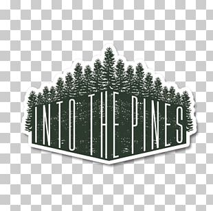 Sticker Between Every Two Pines Is A Doorway To A New World. Scenic PNG