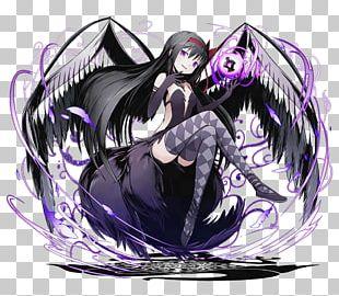 Homura Akemi Sayaka Miki Mami Tomoe Madoka Kaname Devil PNG