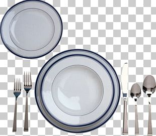 Plate Knife Fork Cutlery Spoon PNG