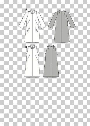 Dress Shoulder Sleeve Clothes Hanger Pattern PNG