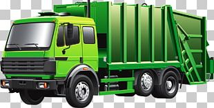 Garbage Truck Waste Open PNG