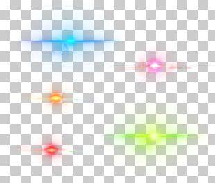 Lens Flare Rendering PNG
