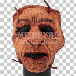 Latex Mask Predator Halloween Costume PNG