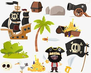 Pirate Collection Element PNG