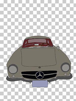 Vintage Car Bumper Automotive Design Classic Car PNG