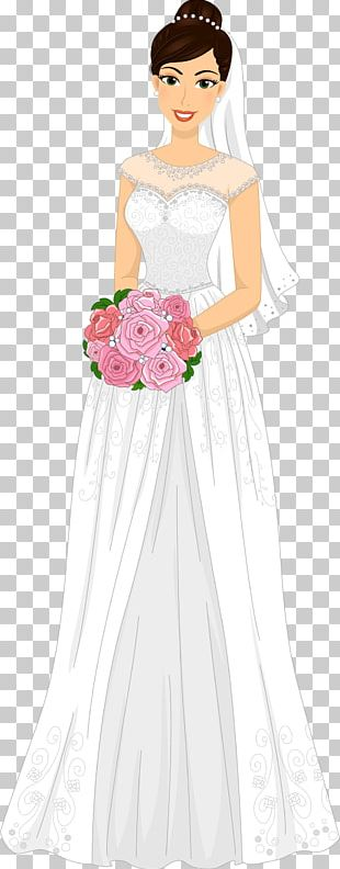 Bride Euclidean Wedding Invitation PNG