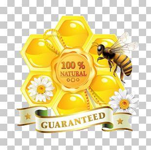 Honey Bee Honey Bee Organic Food Honeycomb PNG