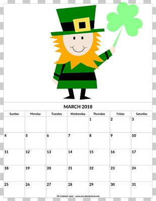 Saint Patrick's Day March 17 Irish People PNG