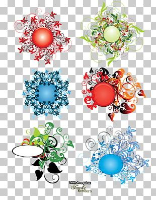 Photomontage Christmas Decoration Flower PNG