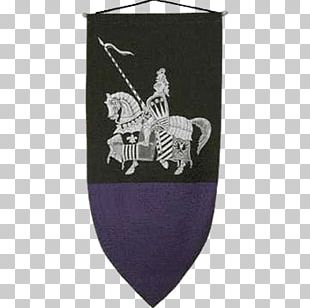 Heraldic Flag Knight Banner Middle Ages Crusades PNG