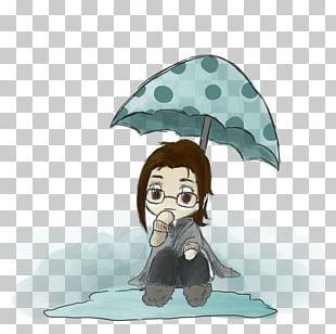 Cartoon Clothing Accessories Umbrella Human Behavior PNG