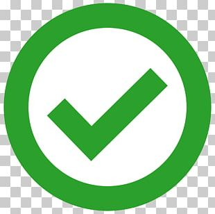 Checked In Circle PNG