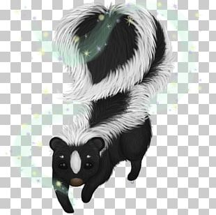Skunk Drawing PNG