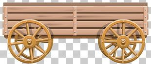 Covered Wagon Cart Wheel PNG