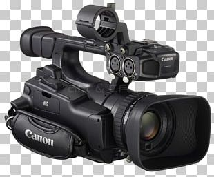 Video Cameras MPEG-2 Canon 1080p Zoom Lens PNG