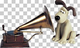Gromit Listening To Music HMV PNG
