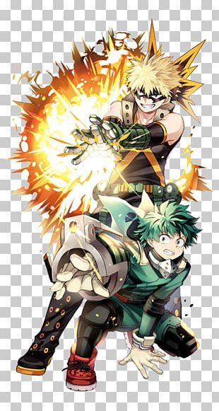 My Hero Academia Katsuki Bakugou Anime Fan Art PNG