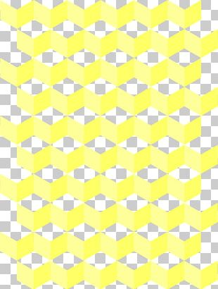 Paper Yellow Gift Wrapping Area Pattern PNG