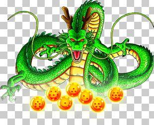 Shenron Dragon Ball Heroes Goku Dende Gotenks PNG