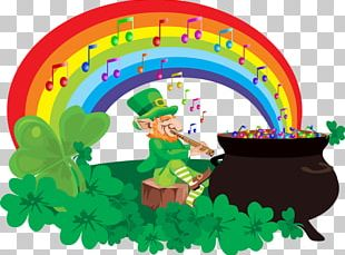 Leprechaun Rainbow St. Patrick's Day Activities Saint Patrick's Day PNG