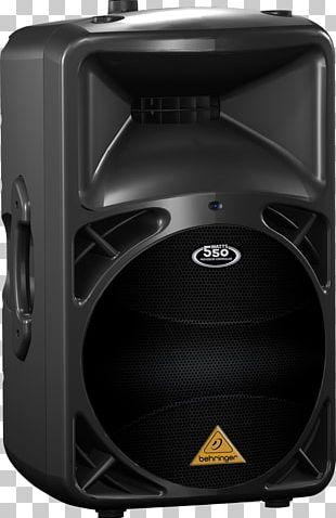 Loudspeaker Enclosure Powered Speakers Public Address Systems Behringer Eurolive B-D Series 1500W PNG