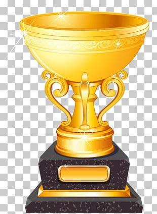 Trophy Football Gold Medal PNG