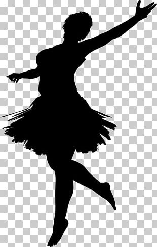 Ballet Dancer Silhouette PNG