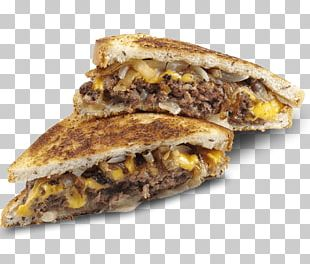 Patty Melt Melt Sandwich Breakfast Sandwich Hamburger Fast Food PNG