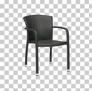 Table Chair Garden Furniture Wicker PNG