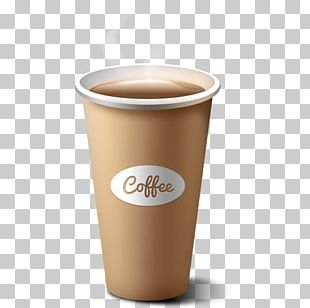 Coffee Cup Paper Cup Tea PNG
