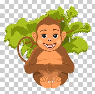 Jungle Cartoon Animal PNG