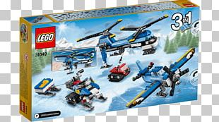 LEGO 31049 Creator Twin Spin Helicopter Lego Creator Amazon.com PNG
