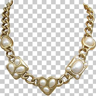 Pearl Necklace Earring Chain Jewellery PNG