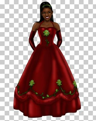 Costume Design Gown Maroon PNG