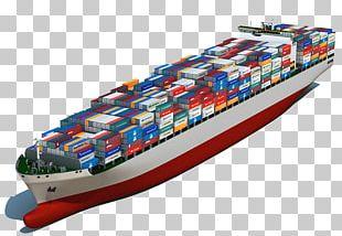 Intermodal Container Cargo Ship Container Ship PNG