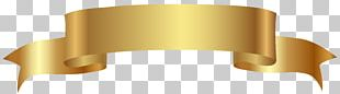 Banner Gold PNG