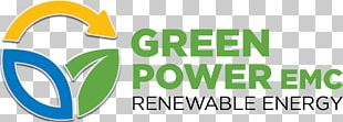 GREEN POWER EMC Renewable Energy Electricity Solar Power Logo PNG