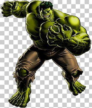 Marvel: Avengers Alliance Hulk Iron Man Thor Thunderbolt Ross PNG