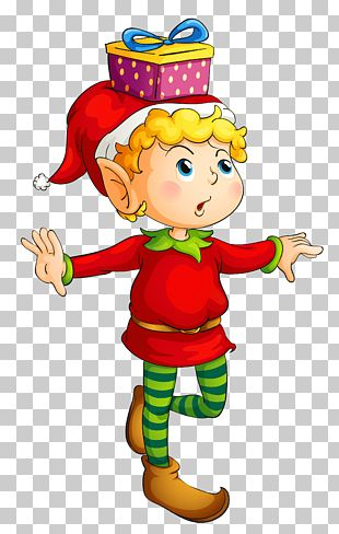 Rudolph Santa Claus Christmas Elf PNG