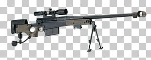 Sniper Rifle Firearm  50 BMG Accuracy International AW50 PNG