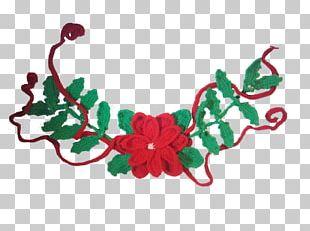 Christmas Ornament Crochet Garland Knitting PNG