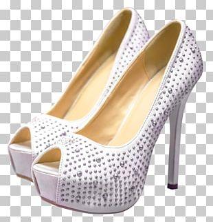 High-heeled Shoe Sandal PNG