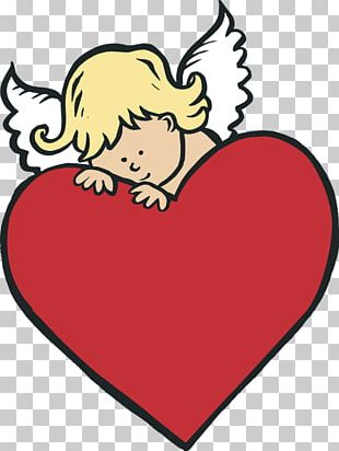 Cupid Heart Valentines Day PNG