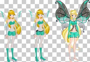 Bloom Fairy Evolution Fan Art Magic PNG